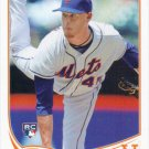 Zack Wheeler 2013 Topps Update Rookie #US50 New York Mets Baseball Card