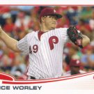 Vance Worley 2013 Topps #249 Philadelphia Phillies Baseball Card