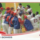 Yan Gomes 2013 Topps Update Rookie #US302 Cleveland Indians Baseball Card