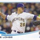 Kyle Lohse 2013 Topps Update #US189 Milwaukee Brewers Baseball Card