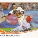 Marco Scutaro 2013 Topps #597 San Francisco Giants Baseball Card