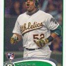 Yoenis Cespedes 2012 Topps Update Rookie #US42 Oakland Athletics Baseball Card
