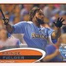 Prince Fielder 2012 Topps Update #US237 Detroit Tigers Baseball Card