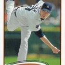 Doug Fister 2012 Topps #201 Detroit Tigers Baseball Card