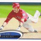 Craig Gentry 2012 Topps #347 Texas Rangers Baseball Card