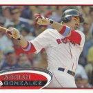 Adrian Gonzalez 2012 Topps #50 Boston Red Sox Baseball Card
