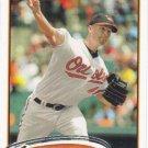 Jeremy Guthrie 2012 Topps #4 Baltimore Orioles Baseball Card
