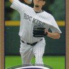 Jason Hammel 2012 Topps #68 Gold Colorado Rockies Baseball Card
