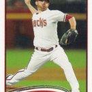 Ian Kennedy 2012 Topps #76 Arizona Diamondbacks Baseball Card
