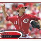 Mike Leake 2012 Topps #308 Cincinnati Reds Baseball Card