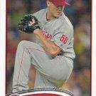 Jonathan Papelbon 2012 Topps #345 Philadelphia Phillies Baseball Card