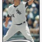 Jake Peavy 2012 Topps #518 Chicago White Sox Baseball Card