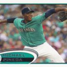 Michael Pineda 2012 Topps #225 Seattle Mariners Baseball Card