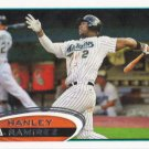 Hanley Ramirez 2012 Topps #60 Miami Marlins Baseball Card