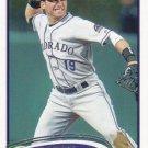 Marco Scutaro 2012 Topps #593 Colorado Rockies Baseball Card