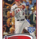 Mark Trumbo 2012 Topps Update #US10 Los Angeles Angels Baseball Card