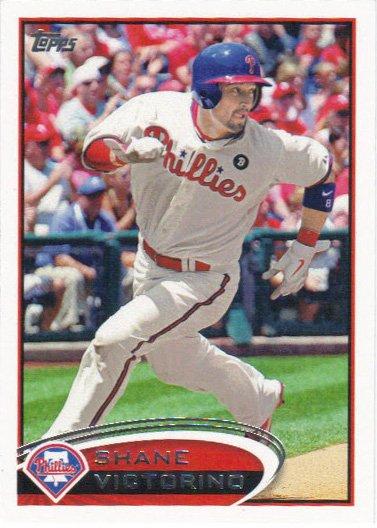 Shane Victorino 2012 Topps #449 Philadelphia Phillies Baseball Card