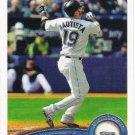 Jose Bautista 2011 Topps #216 Toronto Blue Jays Baseball Card