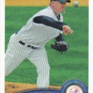 A.J. Burnett 2011 Topps #492 New York Yankees Baseball Card