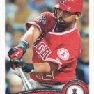 Alberto Callaspo 2011 Topps #454 Los Angeles Angels Baseball Card