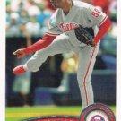 Jose Contreras 2011 Topps #267 Philadelphia Phillies Baseball Card