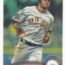 Brandon Crawford 2011 Topps Update Rookie Debut #US136 San Francisco Giants Baseball Card