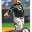 John Danks 2011 Topps #265 Chicago White Sox Baseball Card