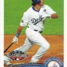 Andre Ethier 2011 Topps Update #US258 Los Angeles Dodgers Baseball Card