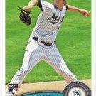 Brad Hand 2011 Topps Update Rookie #US282 Florida Marlins Baseball Card