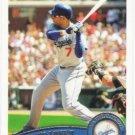 James Loney 2011 Topps #305 Los Angeles Dodgers Baseball Card