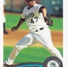 Ricky Nolasco 2011 Topps #637 Florida Marlins Baseball Card