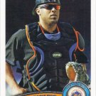 Ronny Paulino 2011 Topps Update #US182 New York Mets Baseball Card