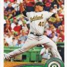 Andrew Bailey 2011 Topps #280 Oakland Athletics Baseball Card