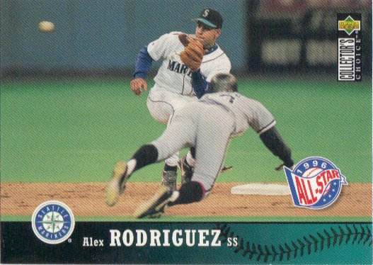 Alex Rodriguez 1997 Upper Deck Collectors Choice 235 Seattle