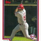 Bobby Abreu 2004 Topps #384 Philadelphia Phillies Baseball Card