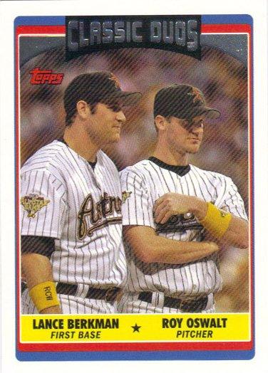 Lance Berkman-Roy Oswalt 2006 Topps Update #US325 Houston Astros Baseball Card