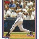 Mark DeRosa 2004 Topps #503 Atlanta Braves Baseball Card