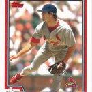 Dan Haren 2004 Topps #496 St. Louis Cardinals Baseball Card