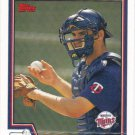 Joe Mauer 2004 Topps #559 Minnesota Twins Baseball Card