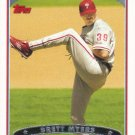 Brett Myers 2006 Topps #432 Philadelphia Phillies Baseball Card