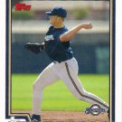 Lyle Overbay 2004 Topps #529 Milwaukee Brewers Baseball Card