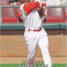 Brandon Phillips 2008 Upper Deck Final Edition #342 Cincinnati Reds Baseball Card