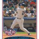 Jorge Posada 2006 Topps Opening Day #40 New York Yankees Baseball Card