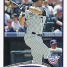 Seth Smith 2012 Topps Opening Day #182 Colorado Rockies Baseball Card