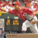 Joey Votto 2009 Upper Deck First Edition #84 Cincinnati Reds Baseball Card