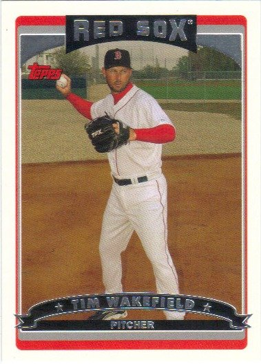 Tim Wakefield 2006 Topps #183 Boston Red Sox Baseball Card