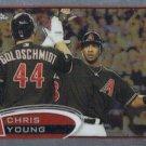 Chris Young 2012 Topps Chrome #145 Arizona Diamondbacks Baseball Card
