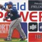 Prince Fielder 2008 Upper Deck 'Infield Power' #IP-PF Milwaukee Brewers Baseball Card