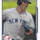 Carlos Beltran 2014 Topps #593 New York Yankees Baseball Card