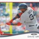 David Ortiz 2014 Topps #475 Boston Red Sox Baseball Card